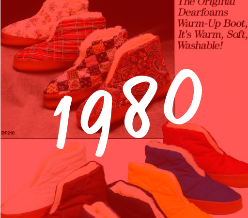1980 Dearfoams History