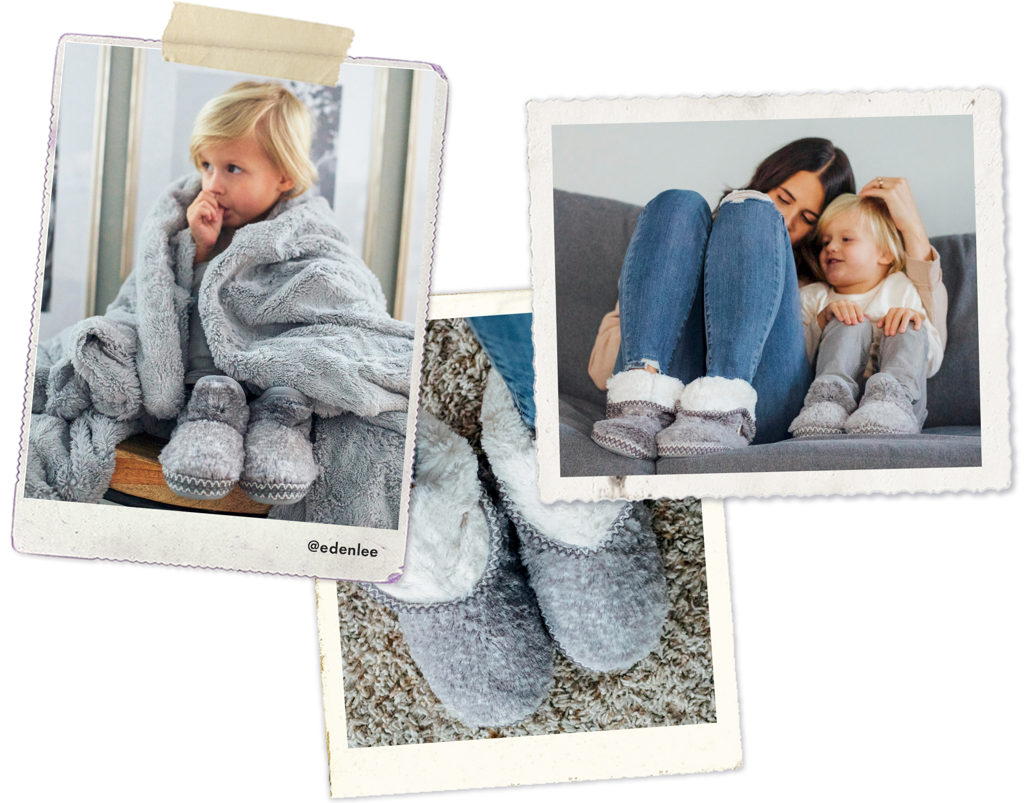 Treat yourself to some well-deserved relaxation with our extra-fluffy, extra-comfy pile booties.