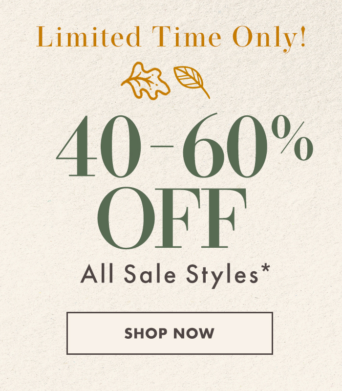 40-60% off all sale styles